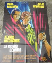 Torn Curtain, Original French Film Poster, Paul Newman, Alfred Hitchcock, '66